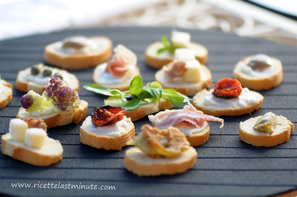 Quick and easy fancy appetizers recipe