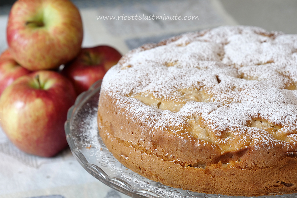 Apple pie with oil recipe