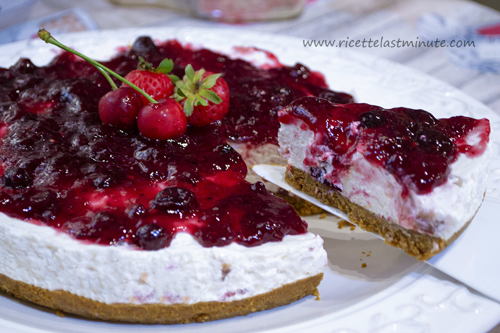 Quick berry cheesecake recipe