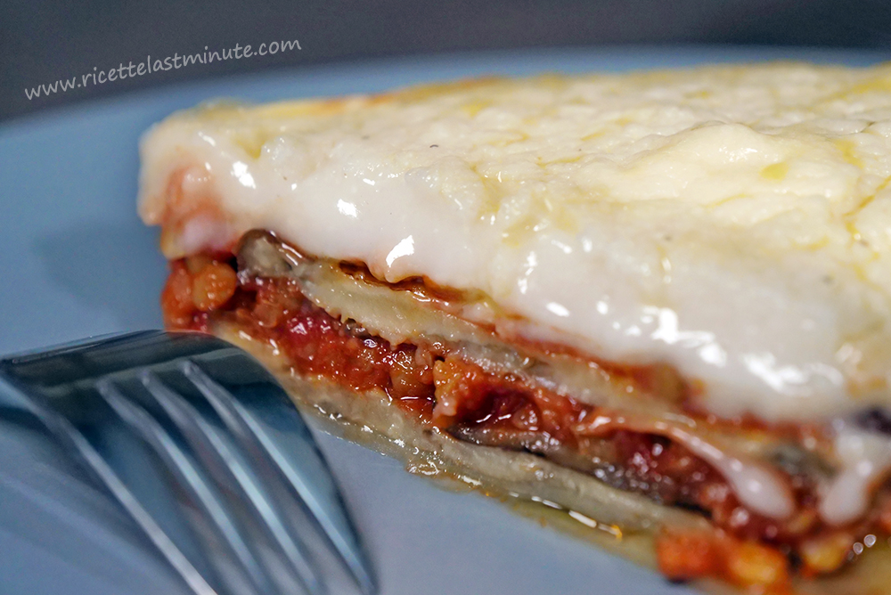 Vegetarian moussaka with lentils recipe