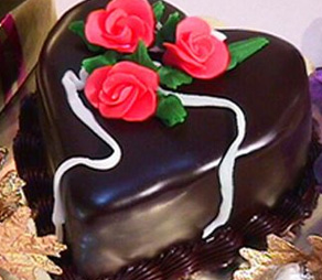 Glassa di cioccolato per copertura torte