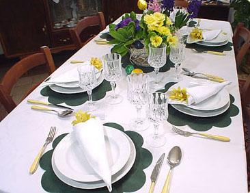 Come apparecchiare la tavola ricette last minute - Apparecchiare una tavola elegante ...