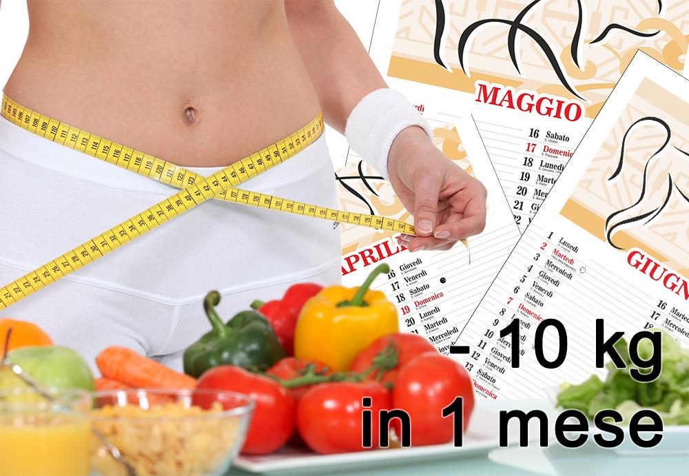 dieta dimagrante 10 kg in un mese