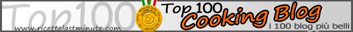 Banner della Top 100 Cooking Blog