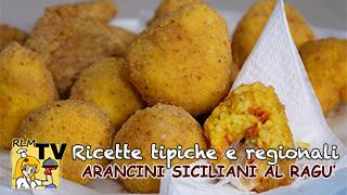 Arancini Siciliani al Ragù