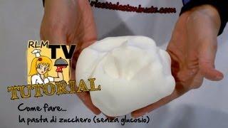 Come fare la pasta di zucchero (senza glucosio)