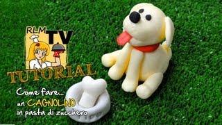 Come fare un cagnolino in pasta di zucchero