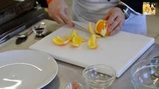 Come pelare a vivo l'arancia
