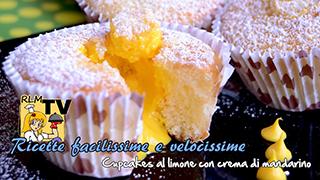 Cupcakes al limone con crema di mandarino