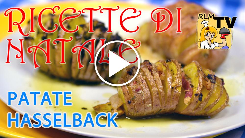 Patate hasselback (farcite al forno)