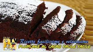 Plumcake al cacao facile e veloce