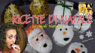 Sushi di Natale - Ricetta per bambini
