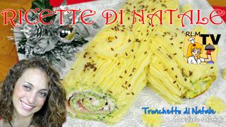 Tronchetto di Natale (versione salata)