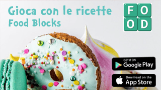 Food Blocks App Android iOS cucina ricette