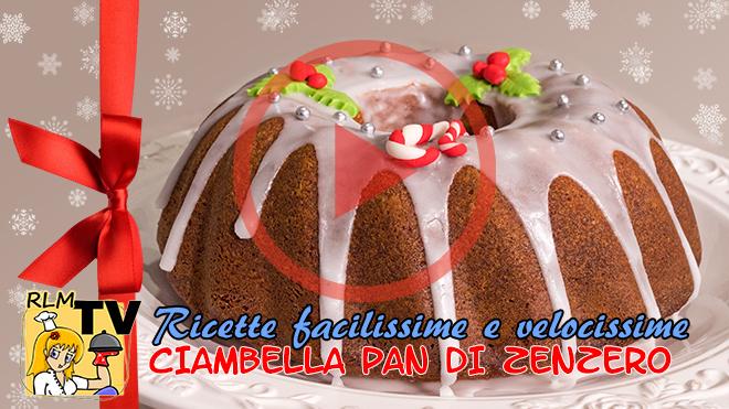 Ciambella Pan di Zenzero di Natale tutorial video