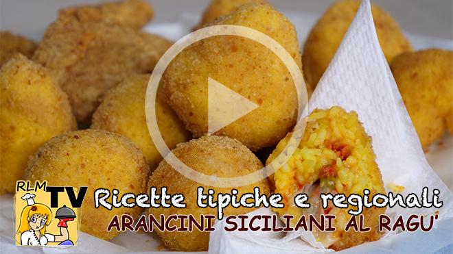 Arancini Siciliani al Ragù tutorial video