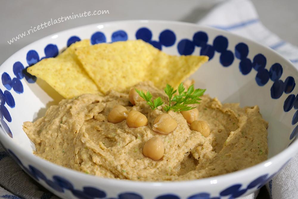 Ricetta Hummus Veloce.Hummus Di Ceci Veloce Ricette Last Minute