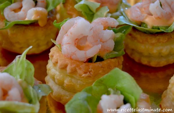 Voulevant Con Salsa Rosa E Gamberetti Ricette Last Minute