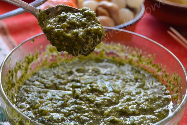 Salsa verde (senza uova)