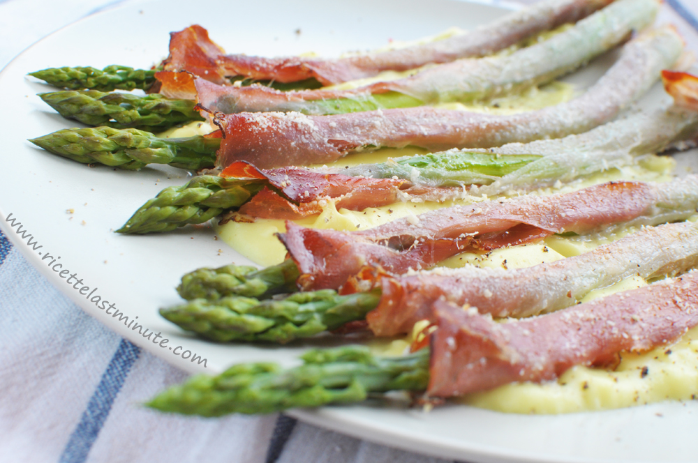Ricette Last Minute Asparagi Con Speck E Besciamella