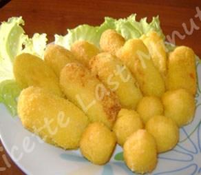 Crocchette veloci di patate