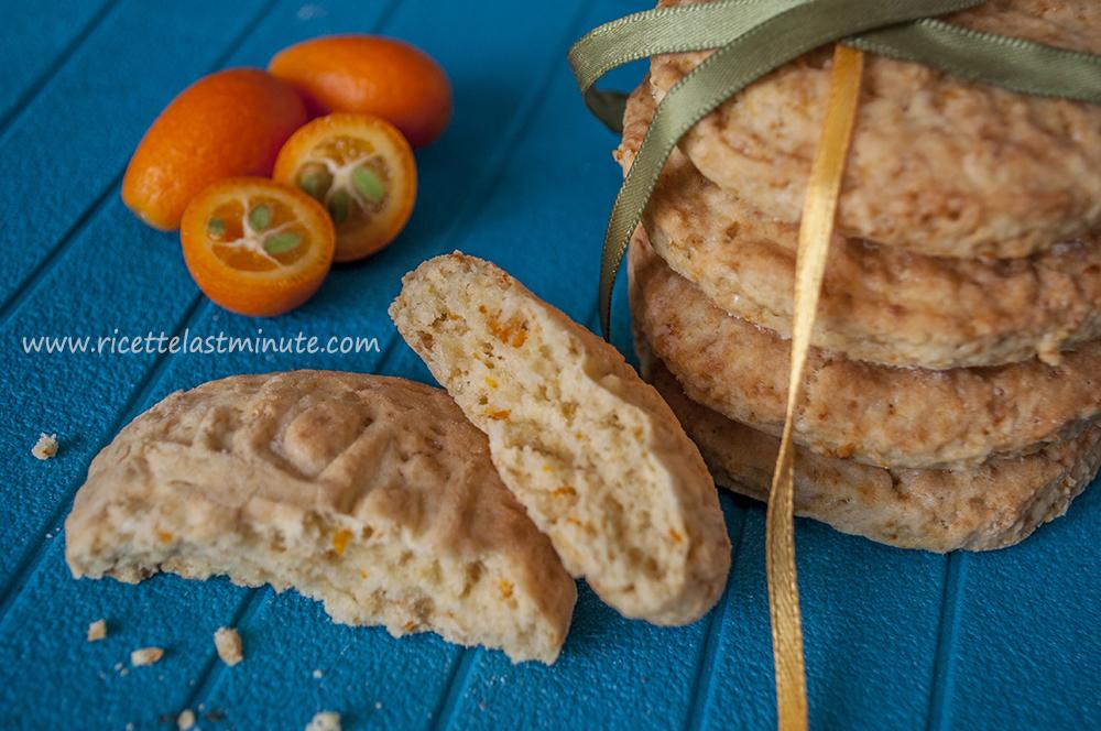 Biscotti light con mandarino cinese
