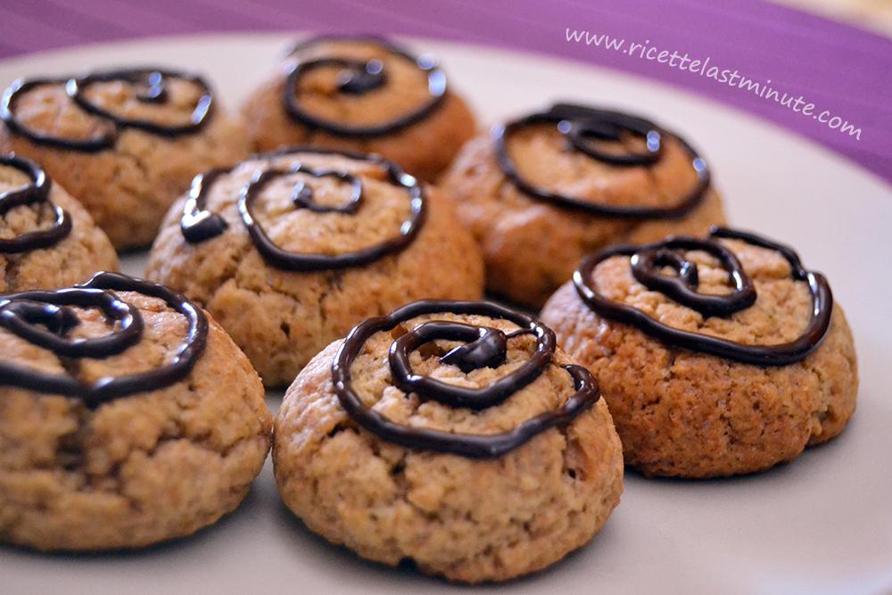 Ricette last minute biscotti integrali speziati for Dolci dietetici