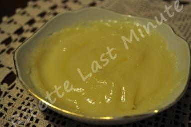 Crema delicata al limone (no uova)