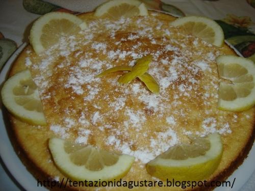 Torta ai limoni di Sicilia