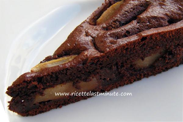 Ricette bimby torta al cioccolato e pere