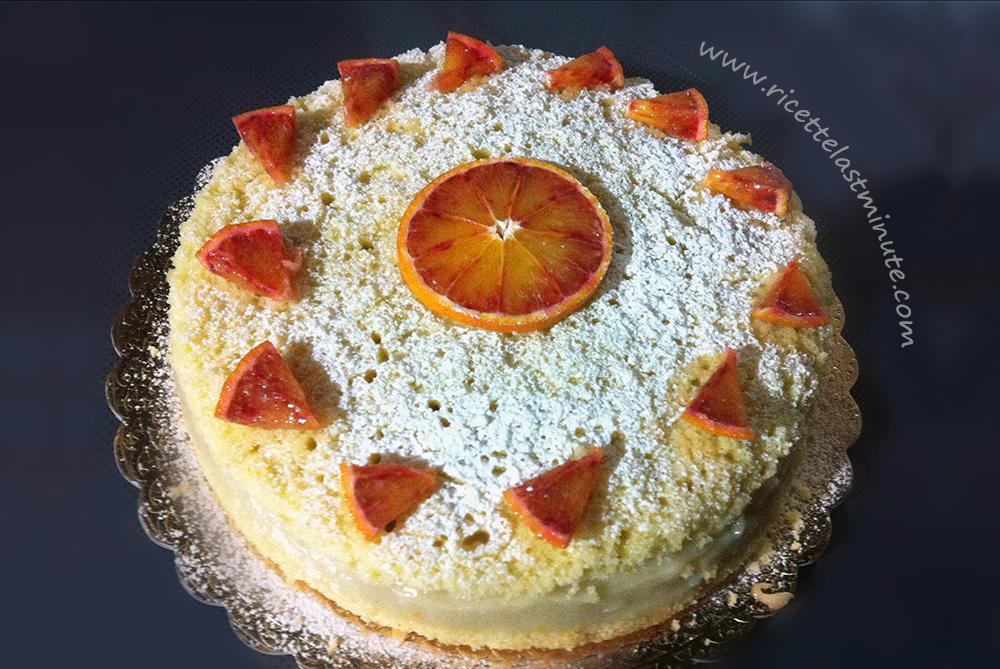 Torta vegan all'arancia (senza latte e senza uova)