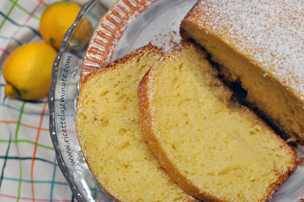 Torta veloce al limone con la MdP