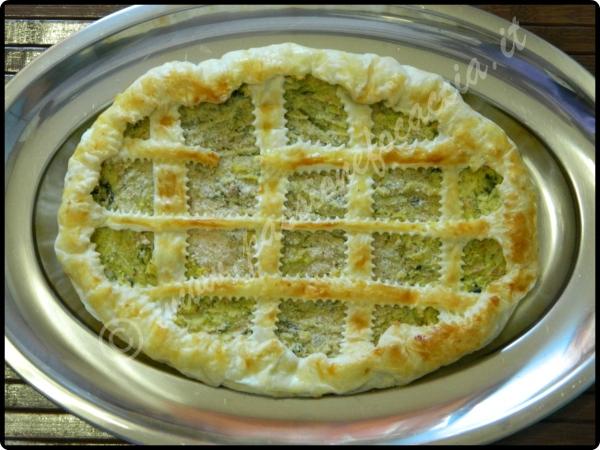 Crostata Di Pasta Sfoglia Con Verza Ricette Last Minute