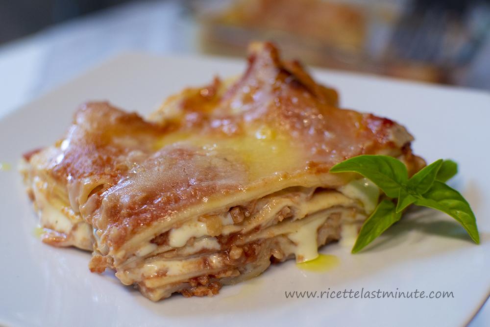 Ricetta X Lasagne Fatte In Casa.Lasagne Veloci Ricette Last Minute