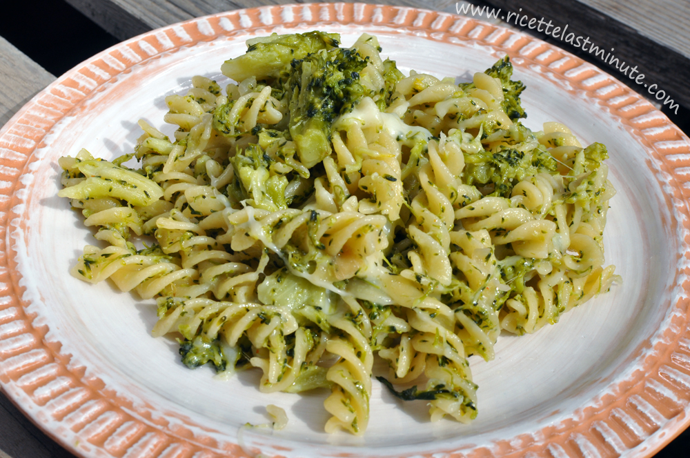 Ricetta pasta broccoli verdi