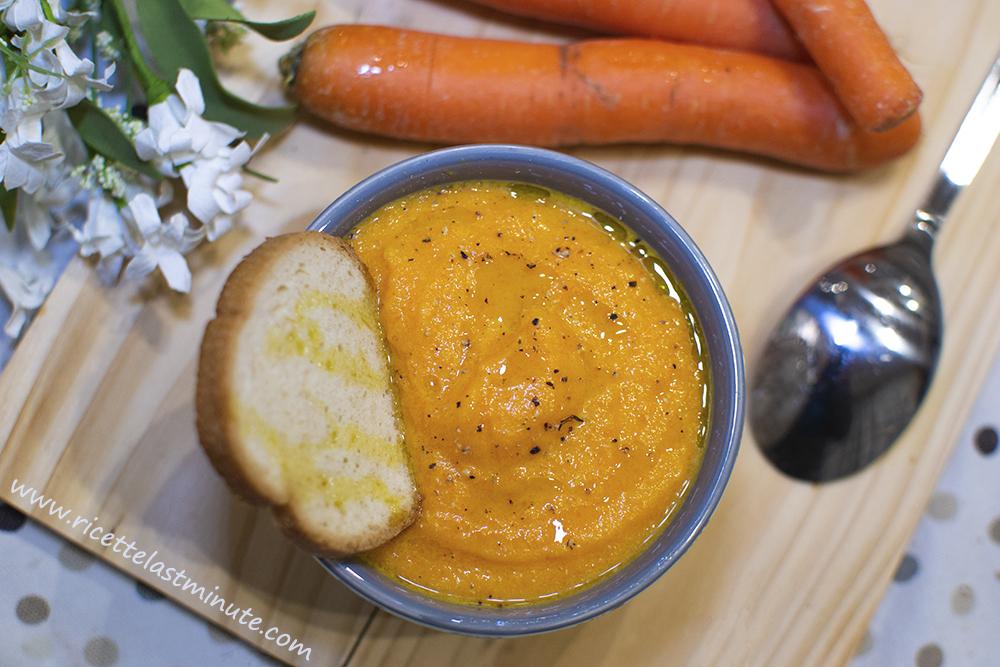 Vellutata di carote e zucca