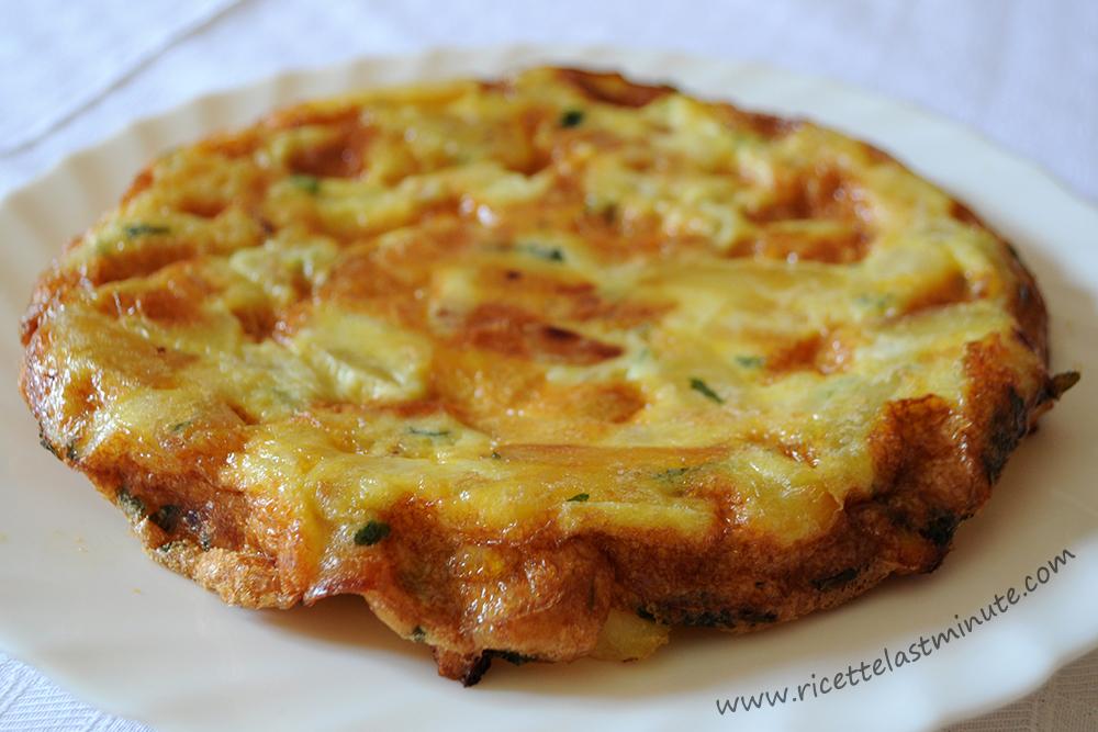 Ricetta Tortillas Patate E Cipolla.Frittata Di Patate E Cipolla Ricette Last Minute