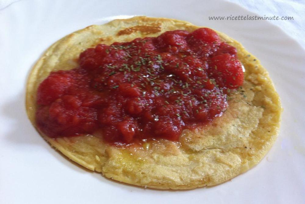Omelette con farina di ceci