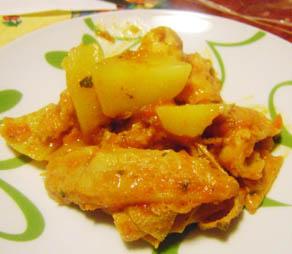 Trippa alla romana con patate