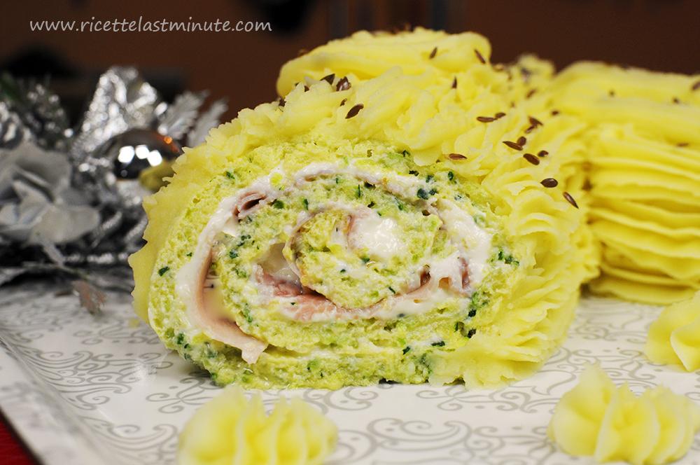 Tronchetto Di Natale Sale E Pepe.Tronchetto Di Natale Versione Salata