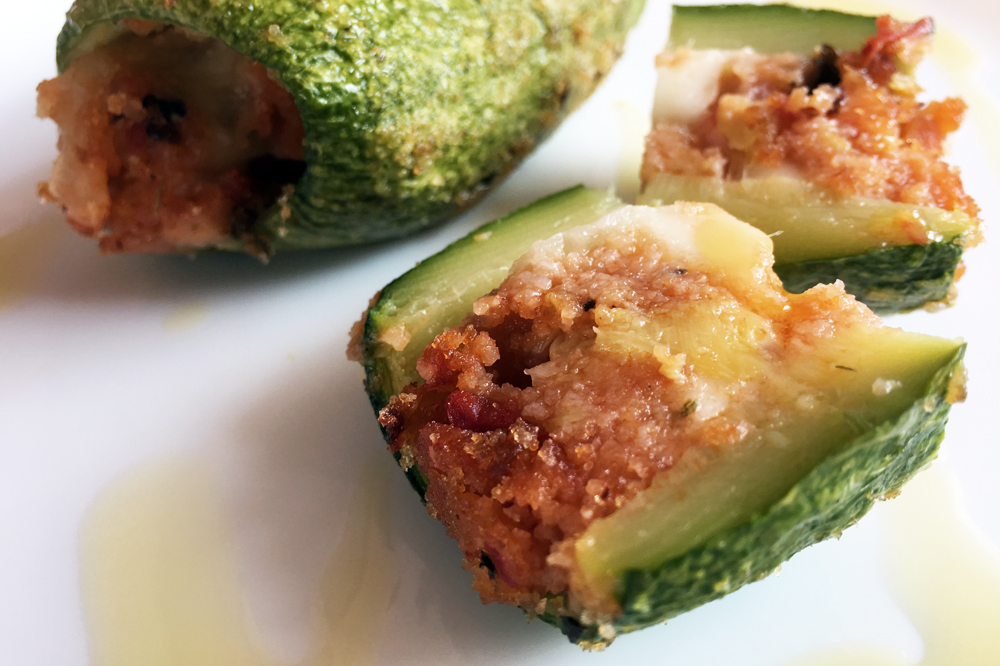 Zucchine ripiene facili e veloci ricette last minute for Ricette veloci facili