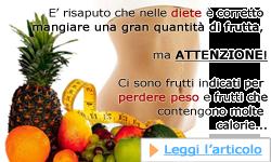 I frutti che fanno dimagrire