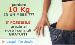 DIETA PER PERDERE 10 KG IN UN MESE