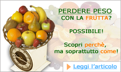 Perdere peso con la frutta