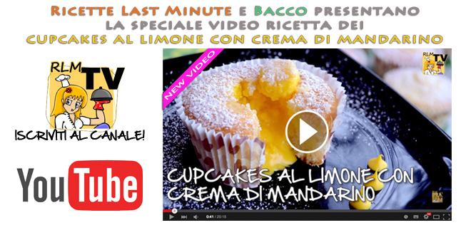 Come creare deliziosi cupcakes al limone con crema di mandarino