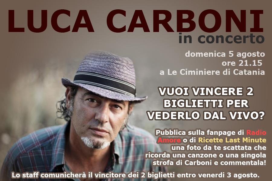 Luca Carboni in concerto a Catania