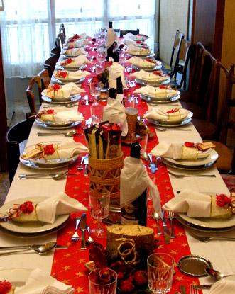 Speciale natale e capodanno ricette last minute for Foto tavole natalizie